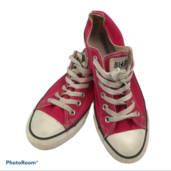 Converse Shoes   Pink Low Tops Womens